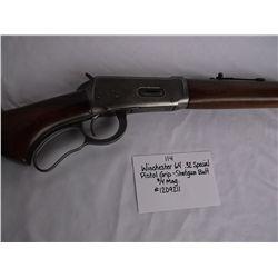 Winchester 64- .32 Spec.-Pistol Grip-Shotgun Butt-3/4 Mag.