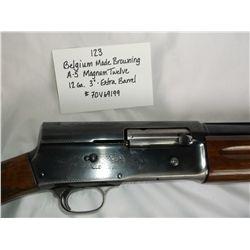 """Belgium Made Browning A-5 Magnum 12-12ga.-3"""""""