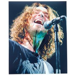 "Chris Cornell Signed Soundgarden 8"" x 10"" Photo LOA"