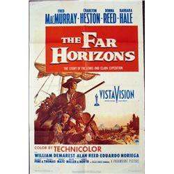 1955 The Far Horizons Charlton Heston Movie Poster