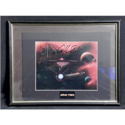 Star Trek William Shatner Signed Photo Art Print
