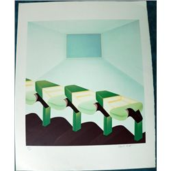 Frank Roth 1978 LE Serigraph Signed and Numbered