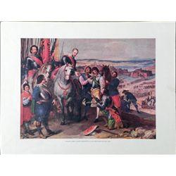 Jusepe Leonardo Juilers Surrender Lithograph Art Print