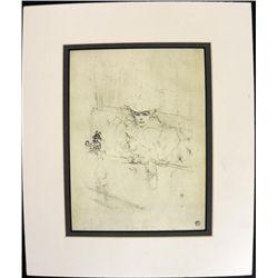 After Hours Print Henri de Toulouse Lautrec Print