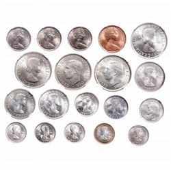Australia. Lot of nineteen (19) Gem Uncirculated coins.