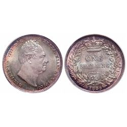 Great Britain. Shilling. 1835. PCGS MS-66.