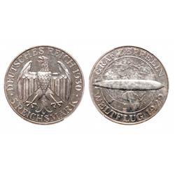 Germany.  5 Marks. 1930 E. PCGS PR-63.