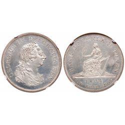 Ireland. 6 Shillings. 1804. NGC PR-64 Cameo.