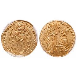 Italy. Ducat. 1343-1354. Fr.1221. PCGS MS-64.