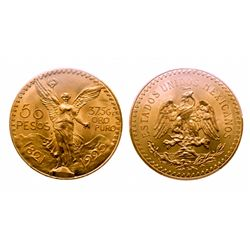 Mexico. 50 Peso. 1925. PCGS MS-65.