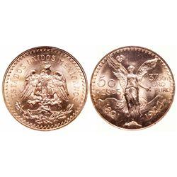 Mexico. 50 Peso. 1944. NGC MS-66.