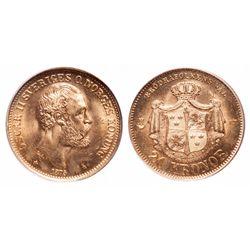 Sweden. 20 Kronor. 1875 ST. PCGS MS-65.