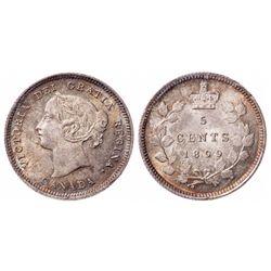 5 Cents. 1899. ICCS MS-65.
