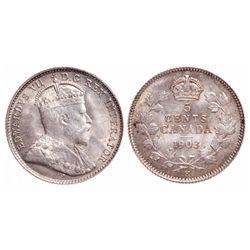 5 Cents. 1903-H. ICCS MS-65.