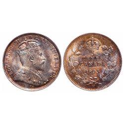 5 Cents. 1903-H. Large H. ICCS MS-65.