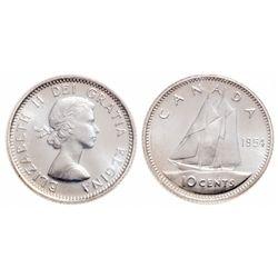 10 Cents. 1954. ICCS PL-67.