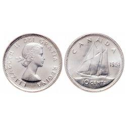 10 Cents. 1954. ICCS PL-66.