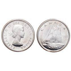 10 Cents. 1958. ICCS PL-66.