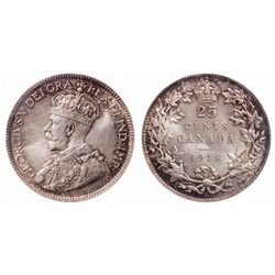 25 Cents. 1918. ICCS MS-66.