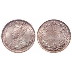 25 Cents. 1931. ICCS MS-65.