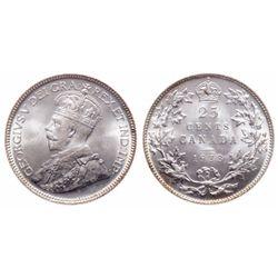 25 Cents. 1933. ICCS MS-66.