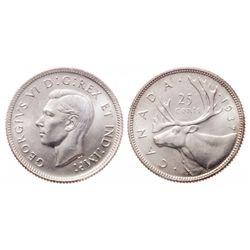 25 Cents. 1937. Matte. ICCS SP-67.