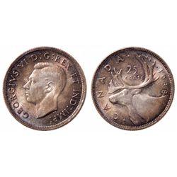 25 Cents. 1938. ICCS MS-66.