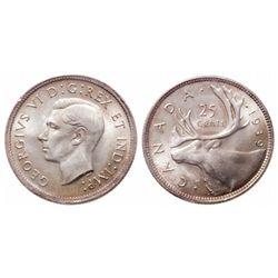 25 Cents. 1939. ICCS MS-66.