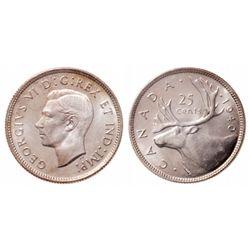 25 Cents. 1940. ICCS MS-65.