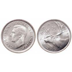 25 Cents. 1941. ICCS MS-65.