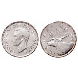 25 Cents. 1946. ICCS MS-65.