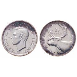 25 Cents. 1947-ML. ICCS SP-67.