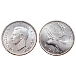 25 Cents. 1947-ML. ICCS MS-65.