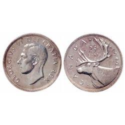 25 Cents. 1949. ICCS SP-66.