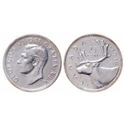 25 Cents. 1949. ICCS SP-65.