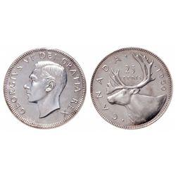 25 Cents. 1950. ICCS SP-66.