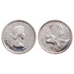25 Cents. 1955. ICCS PL-67.