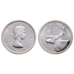 25 Cents. 1959. ICCS PL-67.