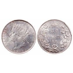 50 Cents. 1898. PCGS MS-64.