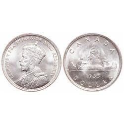 $1.00. 1935. ICCS MS-66.