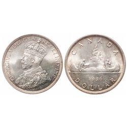 $1.00. 1936. ICCS MS-66.