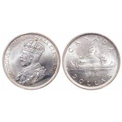$1.00. 1936. ICCS MS-65.
