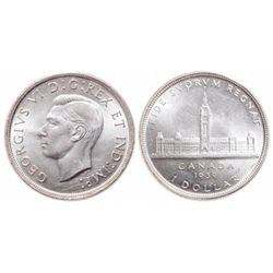 $1.00. 1939. ICCS MS-65.