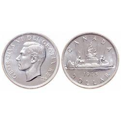$1.00. 1948. ICCS MS-66.