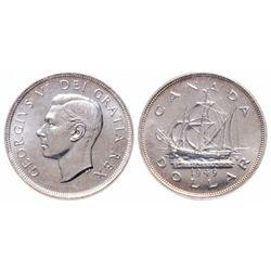 $1.00. 1949. ICCS MS-67.