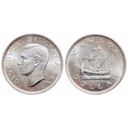 $1.00. 1949. ICCS MS-66.