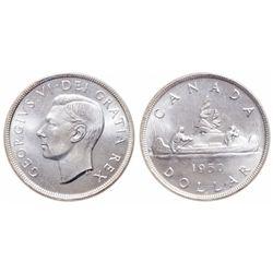 $1.00. 1950. ICCS MS-67.
