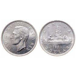 $1.00. 1950. ICCS MS-65.