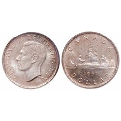 $1.00. 1951. ICCS MS-65.