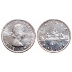 $1.00. 1960. ICCS MS-65.